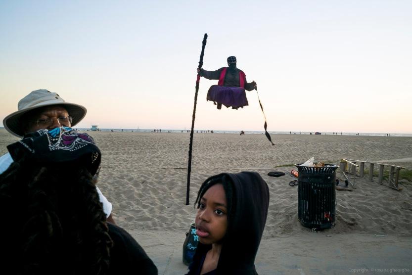 Street Boy Looking Man Levitating Venice Beach 2016
