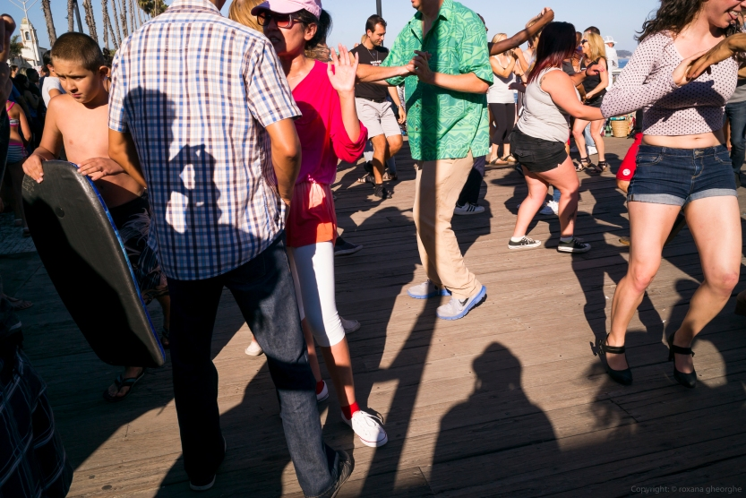 People Dancing In Santa Cruz